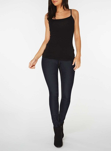 Cool Black Camisole Top