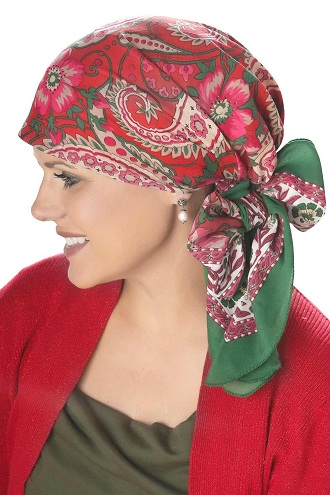 Cotton Wood Block Printed Head Scarves