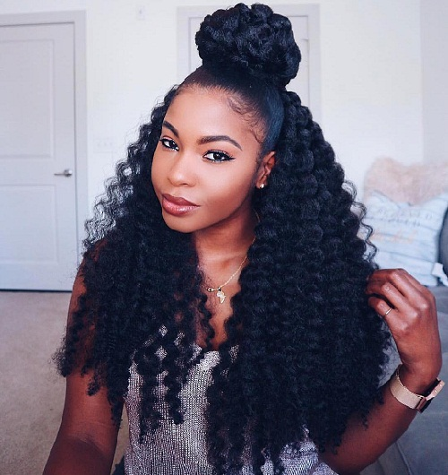 Crochet Braids with the Crown