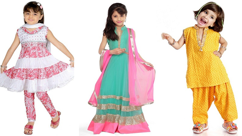 Salwar Suits for Kids