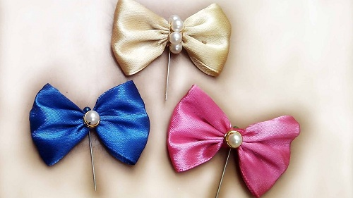 DIY Hijab Bow Pins