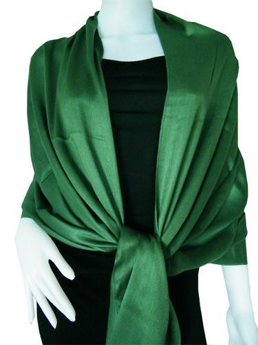 Dark Green Scarf Shawl