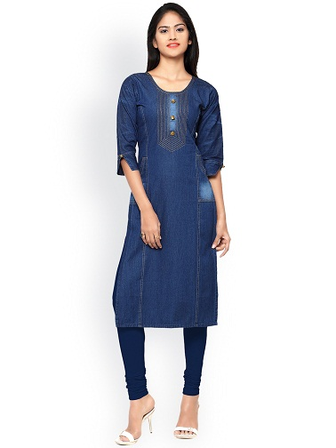 Denim Branded Kurtis