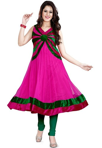 15 Different And Latest Frock Style Kurtis For Indian Women