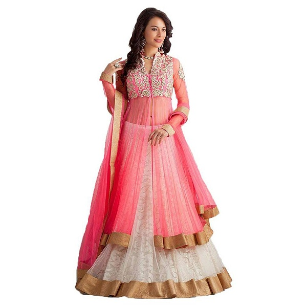 Designs Of Long Kurti With Ghagra In India