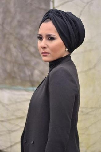 Diamond Face Hijab Styles