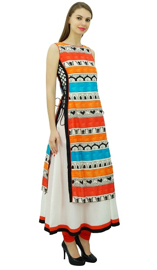 Double Layer Branded Kurta