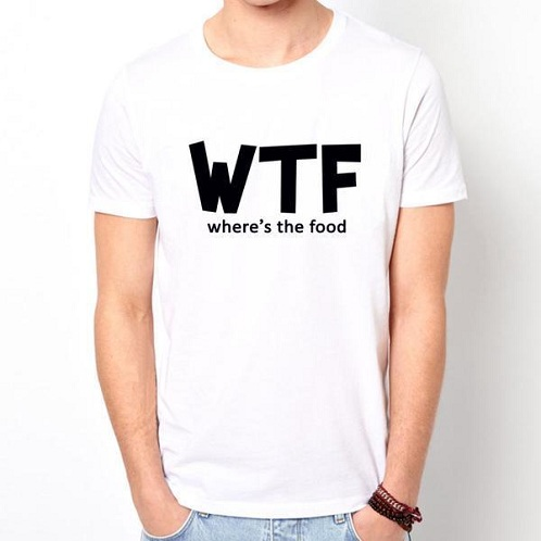 Double Meaning Slogan T Shirt For Men