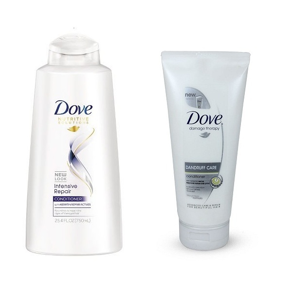 Dove Conditioners for Smooth Hair