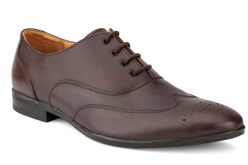 Durable Brown Oxford Brogues