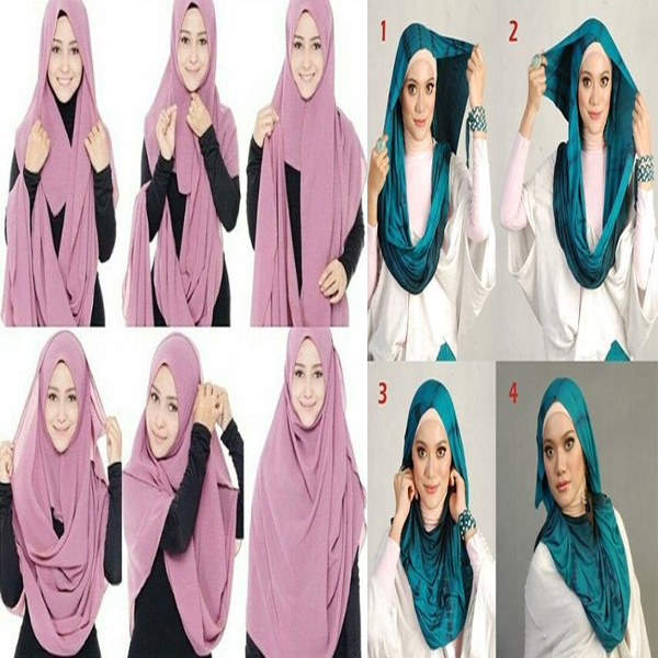 2407ff2aa6 9 Simple And Easy Hijab Styles for School Girls