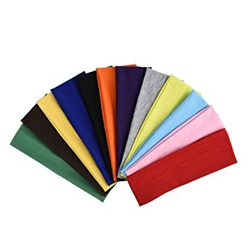 Eboot Stretch Elastic Yoga Cotton Headbands