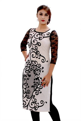 Embroider White Kurta