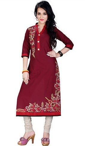 01c7db603a 50 Different Types of Kurti Designs for Women in 2018 | Styles At Life