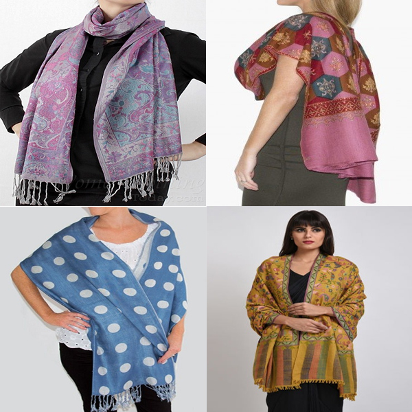 Eye-Catching Pashmina Scarf Designs For Women