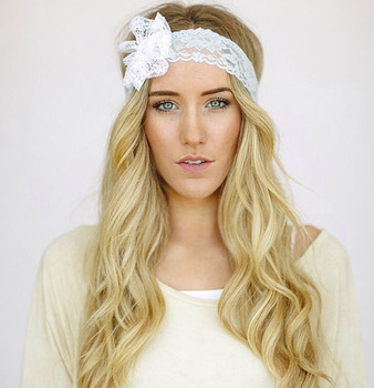 Fabric Flower Headbands