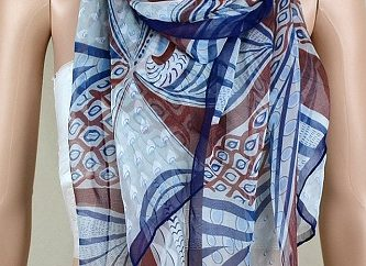 printed scarf