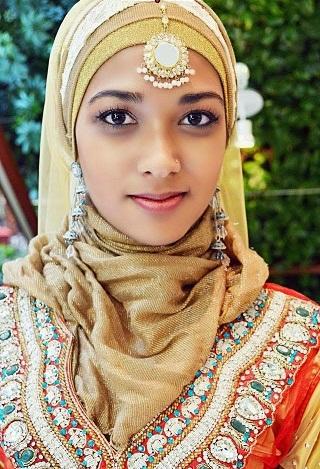 arabic hijab style