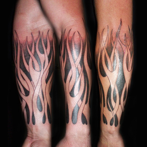Flame Tattoo Designs With Pictures