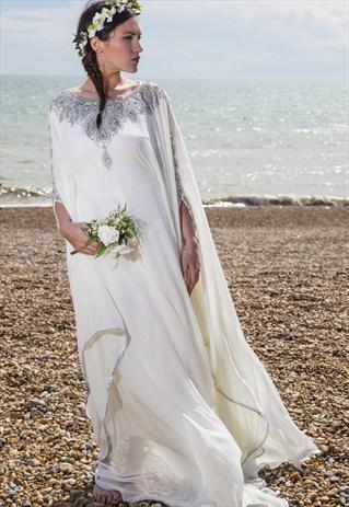 Floating Wedding Dress