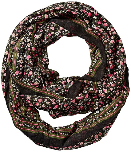 Floral Ladies Snood Scarf