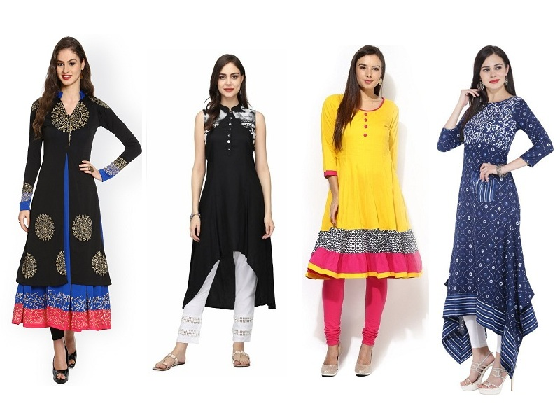 Formal Office Wear Kurtis For Women