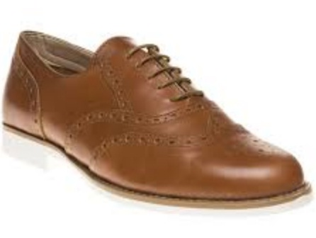 Formal Tan Brogue