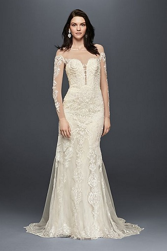 Front Knotted Wedding Dress