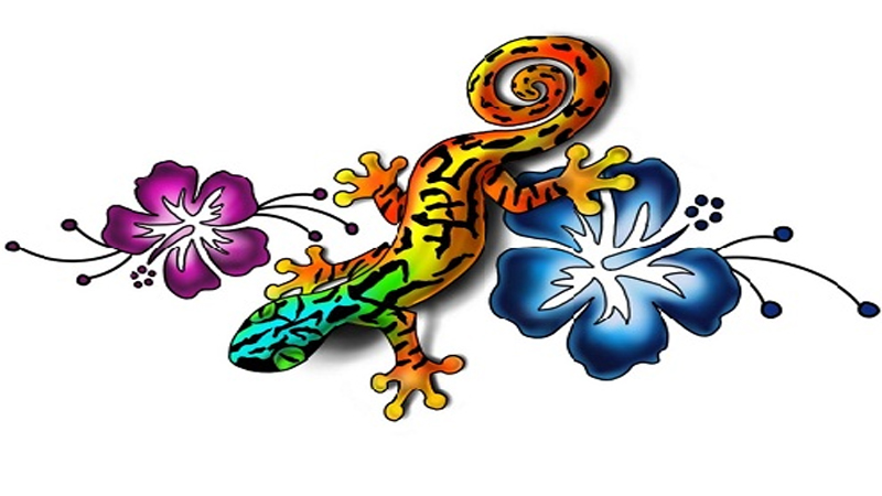 Gecko Tattoo Designs