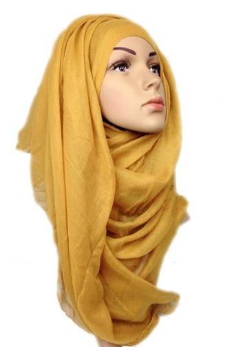 Glimmering Viscose Hijab Scarf