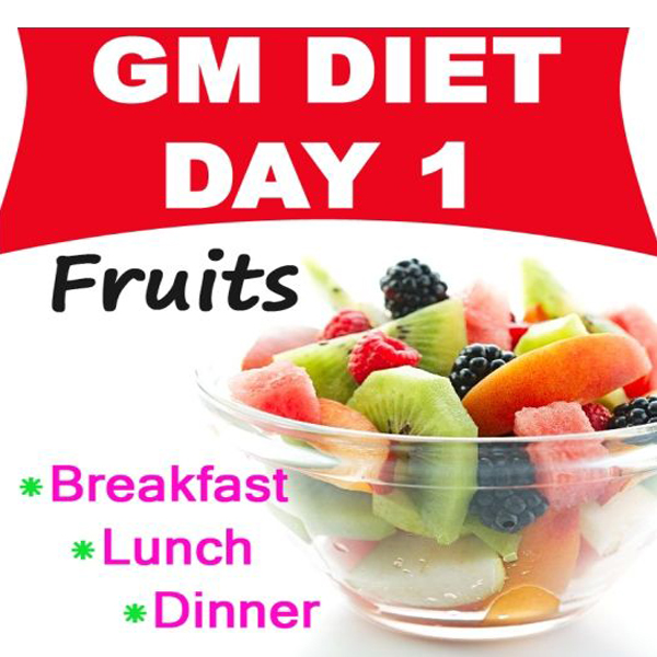 gm diet plan day 1