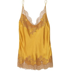 Golden Lace Camisole