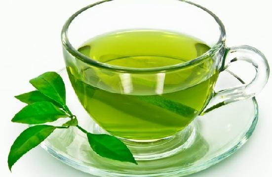 Green Tea for Forehead Acne