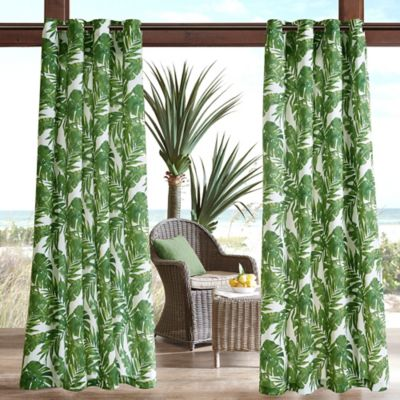 Here Is The Dazzling Collection Of Leaf Printed Curtain Designs That Can Make Your Sense Bloom With Glory