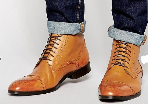 Handmade Men's Oxford Boots