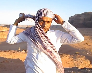 Headscarf for The Desert