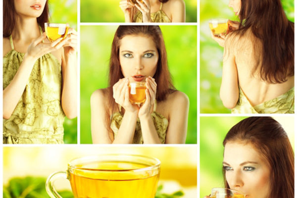 lose weight with green tea