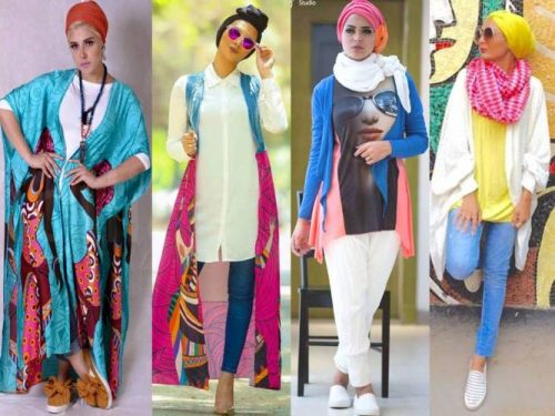 Hijab with Funky Style