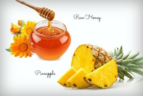 Honey Pineapple Face Mask