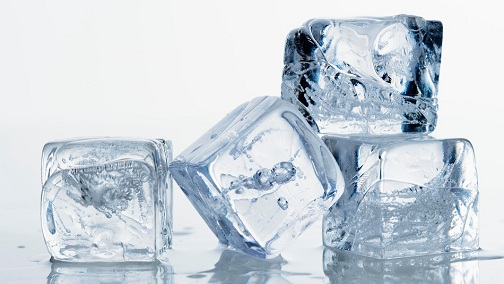 Ice Cubes for Pimples On Chin