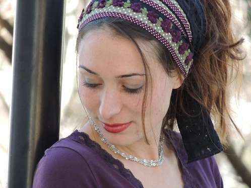 Jewish Butterfly Head Scarf