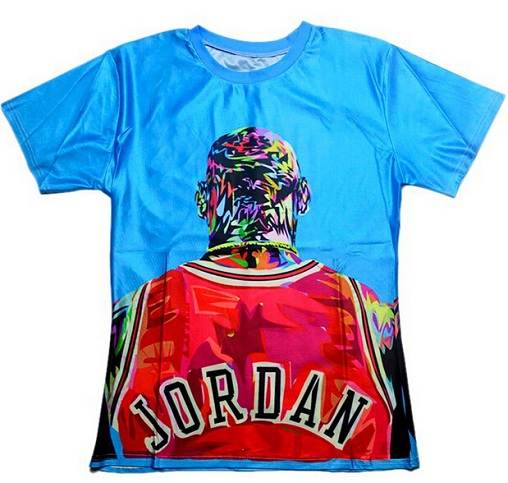 6f2ec0906cb 3d designed t shirts are now a quite popular design which both girls and  boys like to definitely have one. In this 3D Designer t-shirt, player Jordan  rough ...