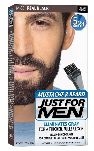 Just for Men Brush in Color Gel For Mustache and Beard