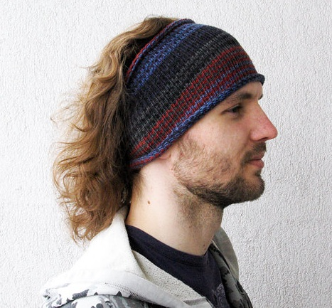 00ceea1fe76 This knitted headband or knit hair wrap is good for everyday use anytime in  virtually any season. It can keep your own hair or dreads from the face and  ...