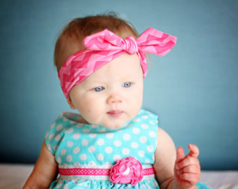 Knotted Baby Headband
