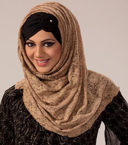 Lace Hijab Scarf