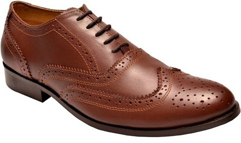 Lace up Brown Leather Brogue