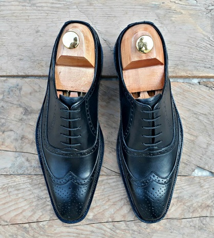 Lace Ups Black Brogue