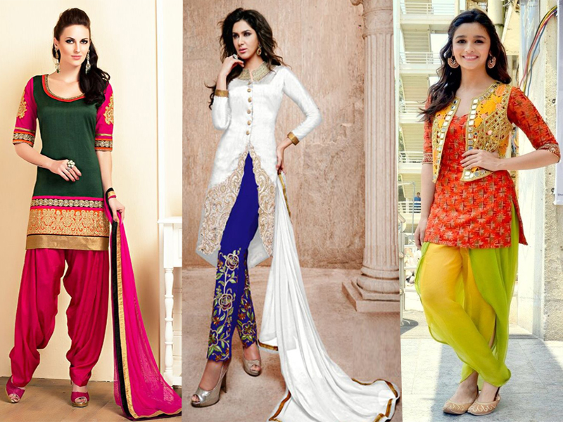 Short Salwar Suits