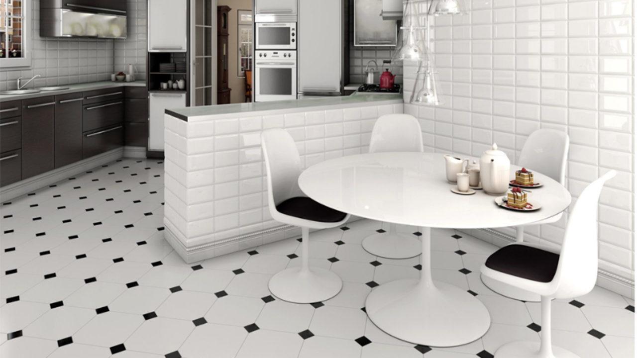 9 Latest Kitchen Floor Tiles in Different Designs
